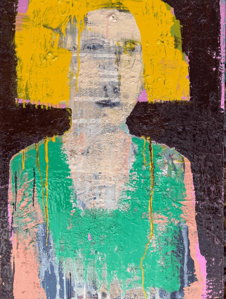 Nadja Adelborg Portræt 80x60 cm
