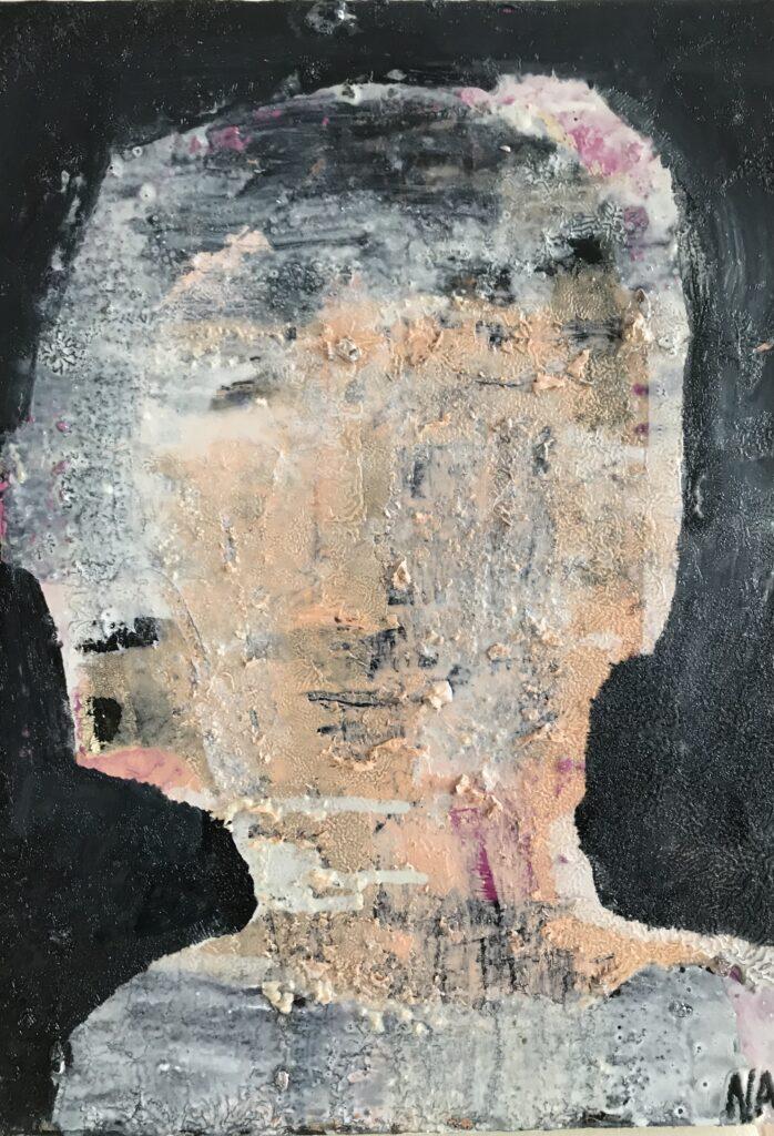Nadja Adelborg Portræt 40x30 cm